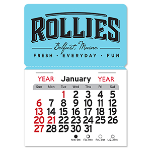 1025M -  Magnetic Peel-N-Stick® Calendars - Rectangle