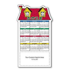 Item: Magnet-19174 - Home Stock Shape Magnetic Calendar
