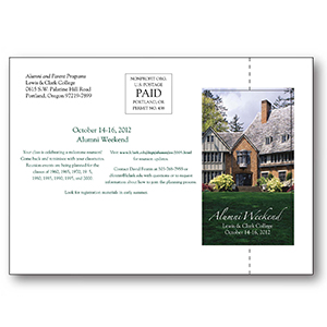 Item: T19628 - Totally Custom EZ Perf&#0153 Postcards (Direct Mail)