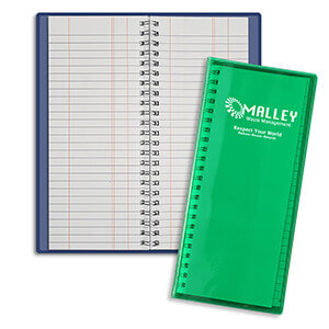 Item: 3308 - Flexible Tally Book Wire-O pad