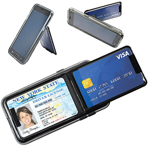 Item: 4030 - Tri-Pocket Tech Wallet - Standard
