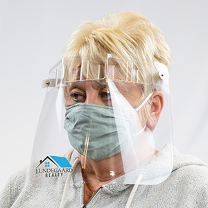 9080I - Preserve-A-Mask&#0153 Face Shield - Imprinted