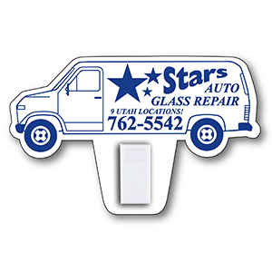 Item: Magnet-20185 - Van Shaped Magnet with Clip
