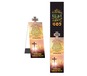 Item: Magnet-22072 - Cross Shape Magnetic Bookmark