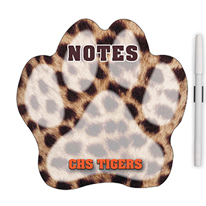 "MG98032 - ""Paw"" Memo Board Magnet"
