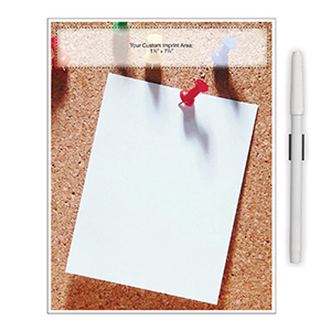 "Item: Magnet-98041 - ""Push Pin Note"" Memo Board Magnet"
