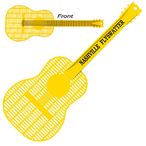Mi1027 - Large Guitar Fly Swatter