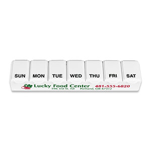 Item: MI1219 - Traditional 7-Day Pill Box