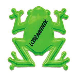 Item: RF365 - Reflective Frog Animal Shape Stickers